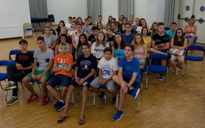 Unsere 41 Teilnehmer/innen aus 10 Nationen